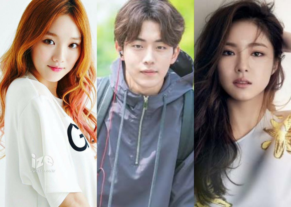 Nam Joo Hyuk Between Lee Sung Kyung And Shin Se Kyung