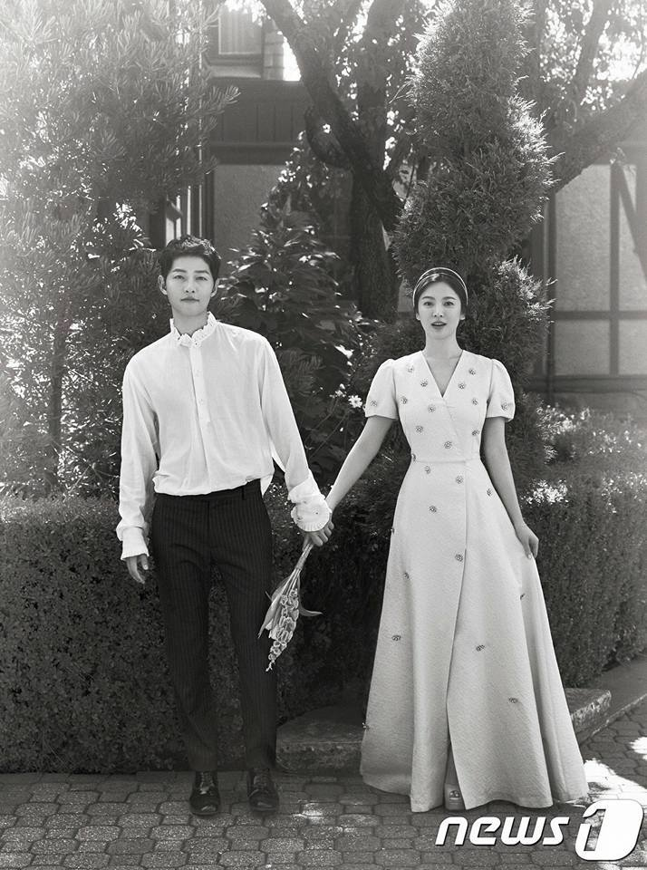 Song Joong Ki and Song Hye Kyo Prenup Photos
