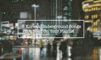 5 Underground Songs You Need On Your Playlist