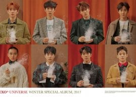 Get Cozy with EXO and Their New Winter Album 'Universe'