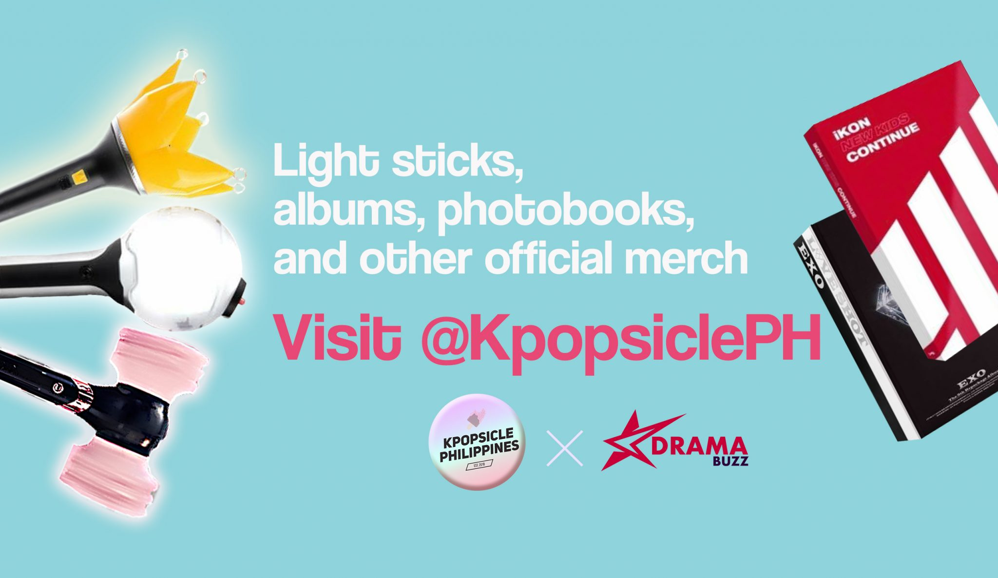 Your Fave Kpop Merch Is One Click Away: Kpopsicle PH is now